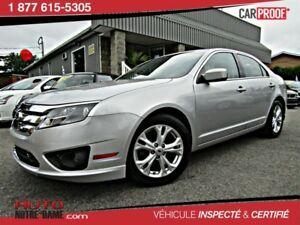 Ford Fusion 4dr Sdn SE FWD MAGS ** NOUVEL ARRIVAGE **  2012