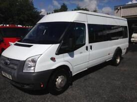 Ford Transit 2.2TDCi 135 Bhp 17 seat t430 ex lwb only 37,000 miles