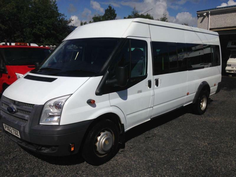 Ford Transit 2.2TDCi 135 Bhp 17 seat t430 ex lwb only 37,000 miles