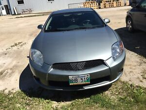 2009 Mitsubishi Eclipse gs low km/fresh safety $8000 obo