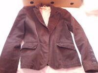 Ladies Brown Cord jacket