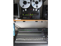 mackie d8b digital mixing desk