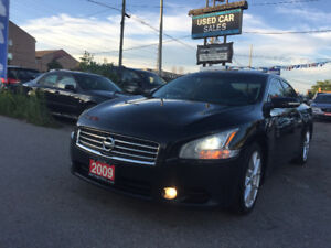 *CERTIFIED*LOADED*2009 Nissan Maxima 3.5 SV Sedan
