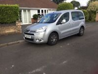 Citroen Berlingo M-SP Air VTR E-HDi Automatic, Silver, 2014, VGC