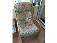 Conservatory wicker furniture