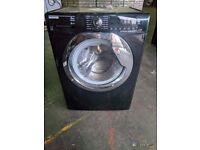 Black hoover washing machine 8kg
