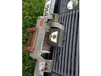 Warn 8274 winch and bumper for Land Rover