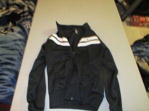 Girls Black Nike Jacket Size Small