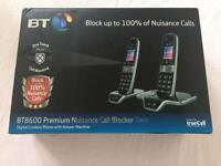BT8600 Twin Call Blocker Telephone