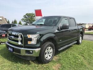 2015 Ford F-150 XLT 4x4 SuperCrew with Ecoboost!