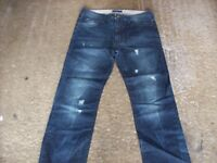 jeans ,job lot of brand new, ripped , faded core spirit jeans, all sizes.