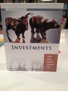 "Livre ""Investments"" (seventh canadian editions)"