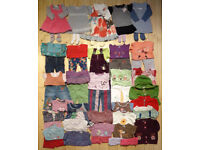 Large Bundle of Good Quality Baby Girl Clothes - 6-12 months