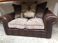 Stag 3 seater & 2 seater pair of sofas. ( new )