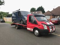 16ft ford transit beaver tail recovery truck