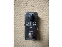 TC Electronics Ditto Looper pedal - for guitar or any other audio input