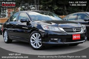 2014 Honda Accord Touring LEATHER NAVI REAR & SIDE CAMERA