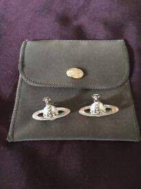 Vivienne Westwood earrings in the box. Brought as a present only worn once so as new