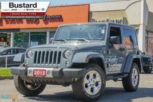 2015 Jeep Wrangler SAHARA | RARE COLOR! | HEATED SEATS |