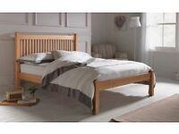 Brand New Kingsize Solid Wood Shaker Bed Frame