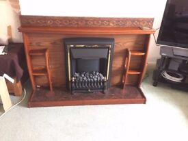 Fireplace and Electric Fire with coal effect