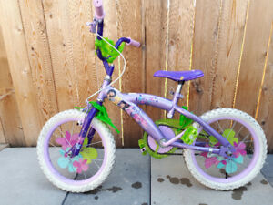 Girls Tinkerbell bike