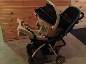 First safety stroller &car seats plus base