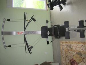 Weider cross bow gym