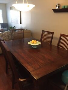 Nathan Hale Dining Room Set Table Chairs And Buffet Hutch Velvet Chair Buy Or Sell Sets In Calgary Kijiji