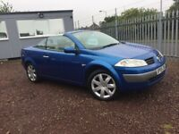 AUTOMATIC CONVERTIBLE -- RENAULT MEGANE 2.0 / ONLY DONE 68K - ONE YEAR MOT -- FULL SERVICE HISTORY