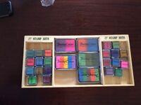 Pretty Colour Stamps Arts boxed