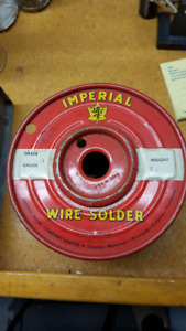10 Pound Spool of Wire Solder