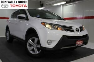 2013 Toyota RAV4 XLE Navigation Pkg Sunroof Btooth BU Camera