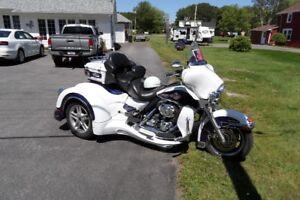 Harley Davidson Ultra Classic with California Side Car Trike