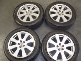 Toyota Avensis Diesel Alloy Wheels 17 with tyres (Set of 4)