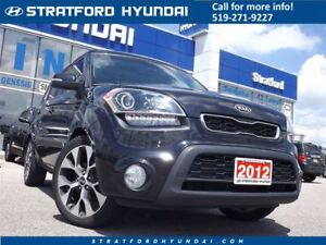2012 Kia Soul 2.0L 4u Luxury | NAVIGATION | LEATHER | SUNROOF |
