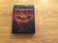 The complete dark knight trilogy limited edition boxset