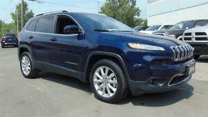 2016 Jeep Cherokee LIMITED - NAV - LEATHER - 14,000 KMS