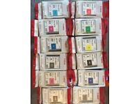 Canon PFI-103 ink tank cartridges Lucia ink 12 colours and 2 X paper rolls 180gsm