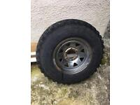 4x4 wheels and tyres 4+1