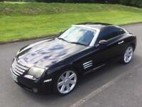 2003 CHRYSLER CROSSFIRE 3.2 AUTO 215 BHP x2 keys SPORTS CAR BARGAIN CD MP3 leathers