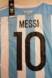 Argentina MESSI Soccer Jerseys! Best Quality! BRAND NEW WITH TAG