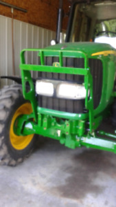 FRONT GUARD FOR JOHN DEERE + FRONT BLOCK + WEIGHTS