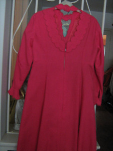1960s Vintage Long Pink Gown--$15.