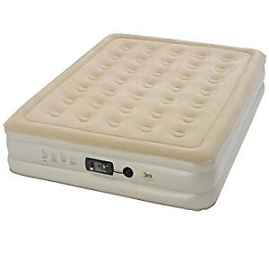 Double size inflatable mattress
