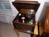 SWOP OLD WIND UP RECORD PLAYER FOR TRANSITOR RADIO