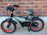 Boy's bicycle for sale suitable for a 4-5 year old