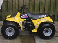 SUZUKI LT50 QUAD/LT80 QUAD WANTED