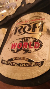 Ring Of Honor (ROH) Television Championship Replica Belt