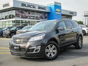 2017 Chevrolet Traverse LT, AWD, 7 PASSENGER, BACK-UP CAMERA, V6